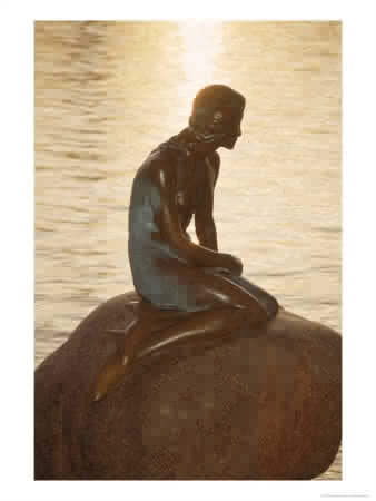 Little Mermaid Statue - Copenhagen