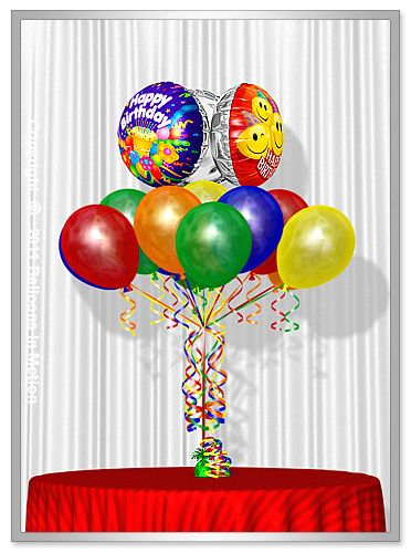 New York City Balloon Bouquets
