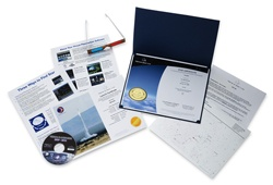 Our Deluxe Gift Set is a great package. Comes with the Star Certificate, Chart and our Virtual Planetarium Software!    $54.95