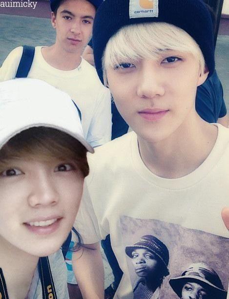 Sehun and luhan ExoExo Sehun And Luhan Fight