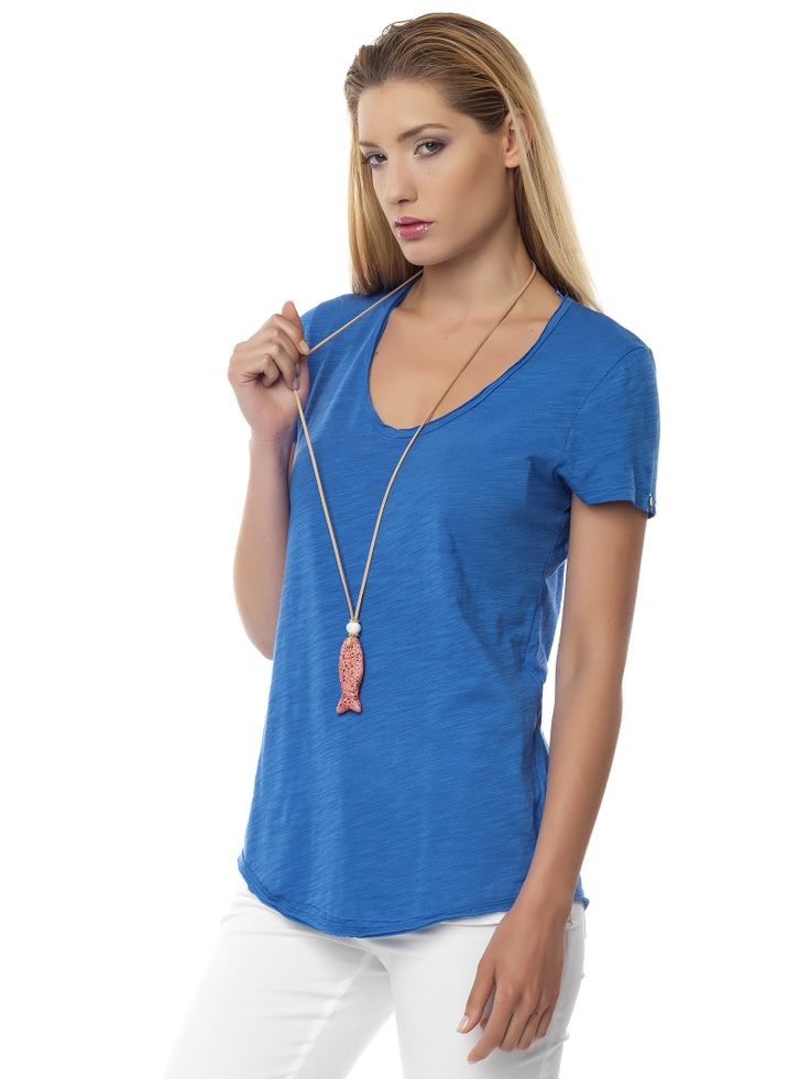#pastel_blue#tshirt it is #chic & #casual