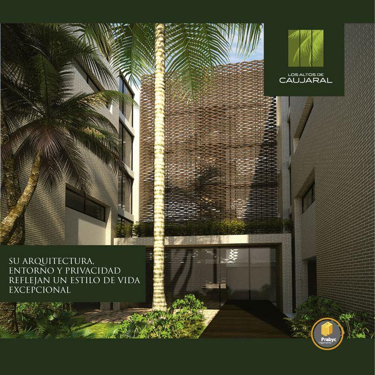 Un #lugar único con #espacios #sofisticados, exclusivos y con #diseño de #vanguardia #apartamentos #Barranquilla #Dúplex #Penthouse #ArquitecturaBioclimática #Bioclimático #Oasis #mansión #natural #Club #ClubHouse #Colombia #arquitectura #diseñoarquitectonico #construcción #natural