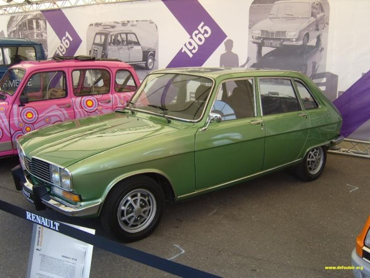 Renault 16TX. Lovely motor. Build it again, Renault, and I'll probably buy one!