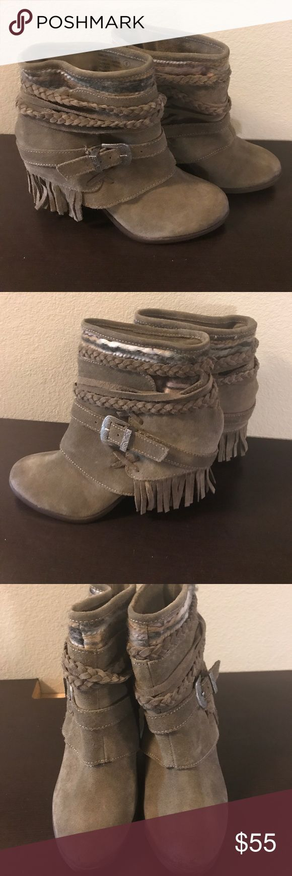 Naughty monkey boots size 6 Store display never used by me only a nordstrom store display size 6 naughty monkey Shoes Heeled Boots