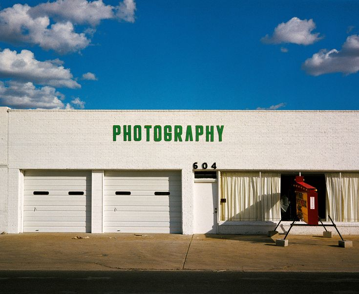 See Wim Wenders's photographs that inspired the film, Paris, Texas.
