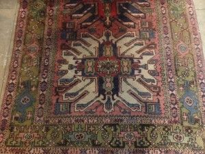 Africa then & now - Provenance Auction House: A Hammadan Carpet; 3600 x 1450mm
