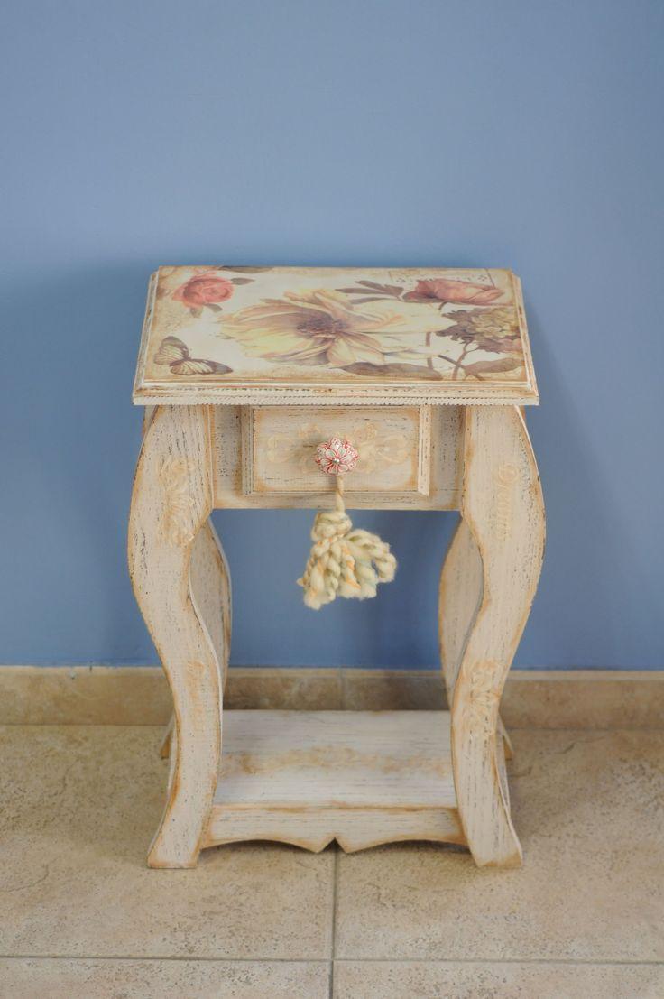 Mueble Vintage - Sublimacion sobre Madera - Maria Rita Pinotti