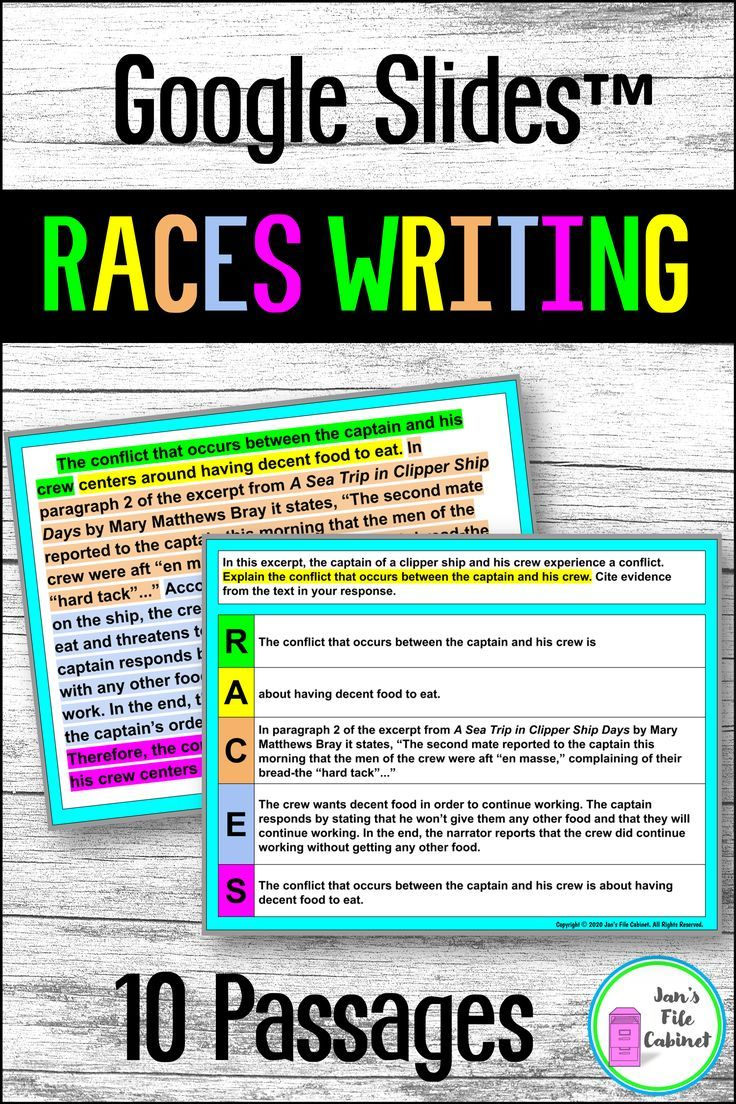 Races Writing Strategy Practice And Passages Explanatory Writing Race Writing Writing Strategies [ 1104 x 736 Pixel ]