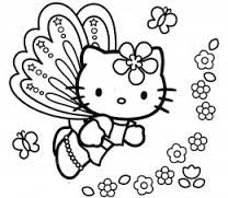 hello kitty coloring page - Google Search