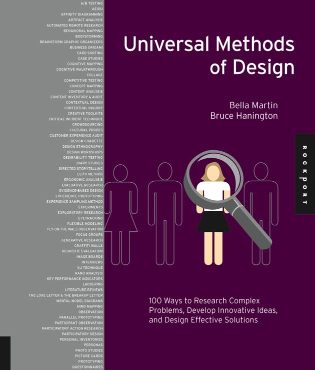218 best book images on pinterest books online design thinking universal methods of design fandeluxe Images
