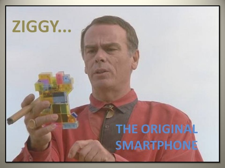 The Original Smartphone...Gotta love Quantum Leap :) :D
