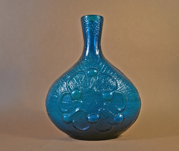 PeeDee Art Glass Vase Italy Designed by Wayne Husted. $50.00, via Etsy.