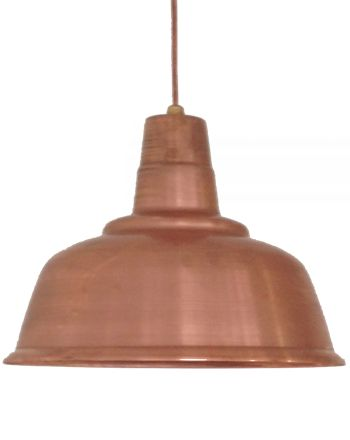 VINTAGE INDUSTRIAL LIGHTING | MADE IN NEW ZEALAND | COPPER LIGHT