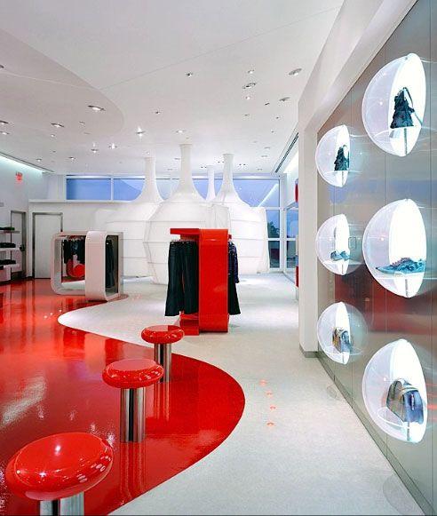Uzumaki interior design fashion store interior decorating for About interior decoration