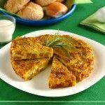 Ricetta Frittata al forno con zucca e porri al rosmarino | Donna Moderna