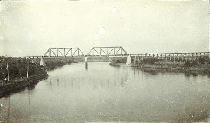 Prairie Postcards   Battleford Bridge Over North Saskatchewan River (1908)