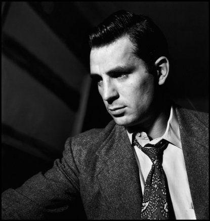Pensive Jack Kerouac