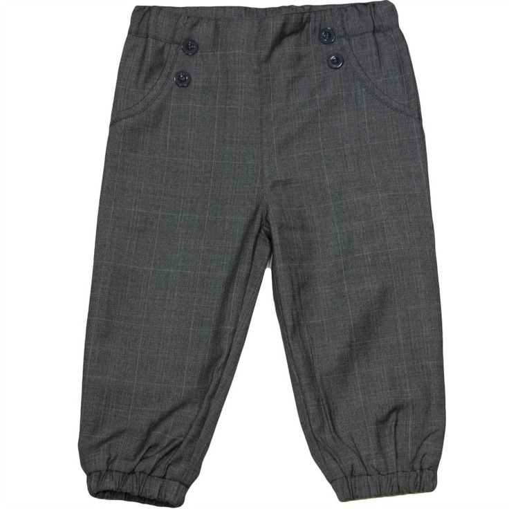 MeMini Mario pant - grey checked