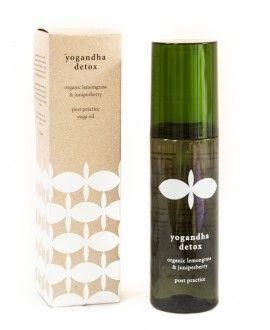 yogandha detox body oil box&bottle €29.95