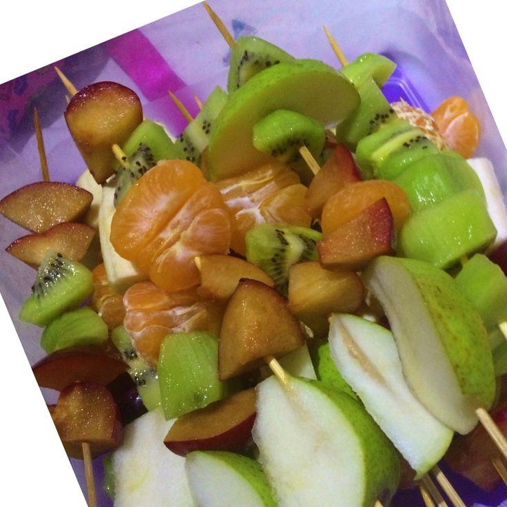 Fruit Kebap diy #foodfun