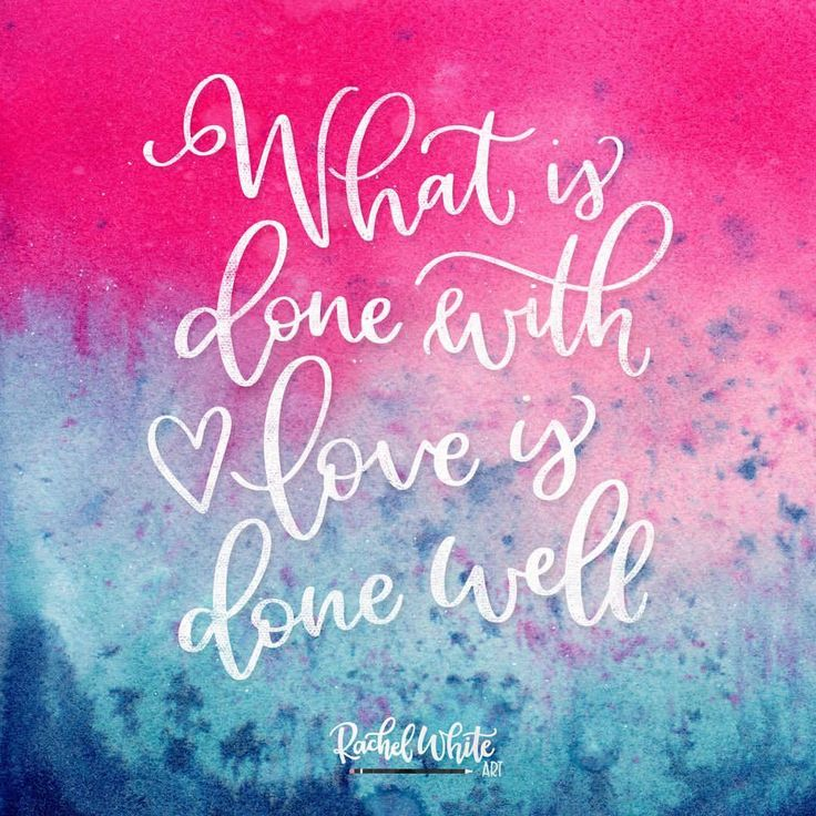 What is done with love is done well.  . . This was made using one of my spray stain backgrounds.  You can find more here in my @creativemarket shop: https://crmrkt.com/9OgRz9 . . . #rachelwhiteart #lettering #handlettered #handlettering #ipadlettering #calligraphy #typography #type #font #handmadefont #brushfont #ipad #ipadpro #procreate #love #vincentvangough #artistquotes #qotd