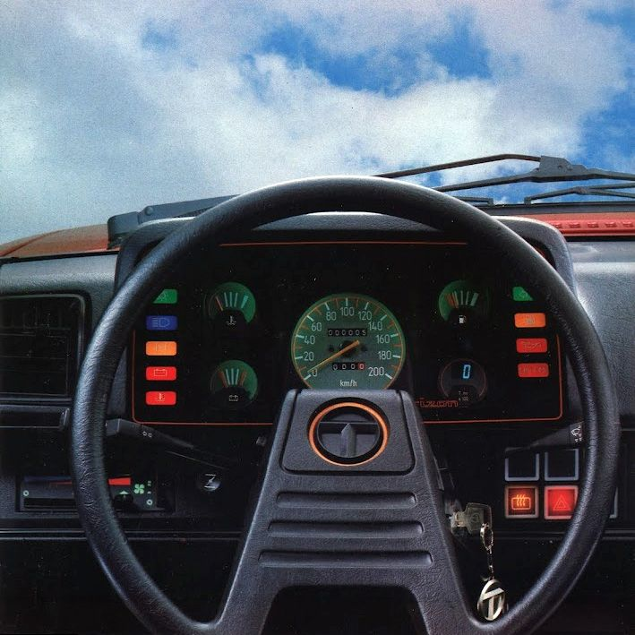 1985 talbot horizon (driving in the sky)