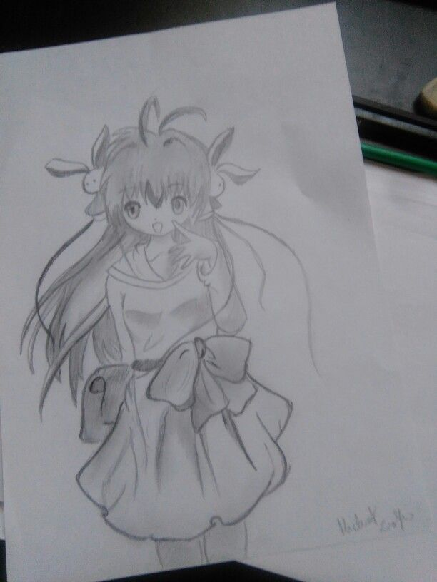 #girl #manga #anime #draw #myart