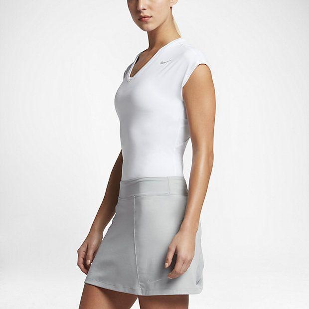 Женская футболка для гольфа с коротким рукавом Nike Dry 4190