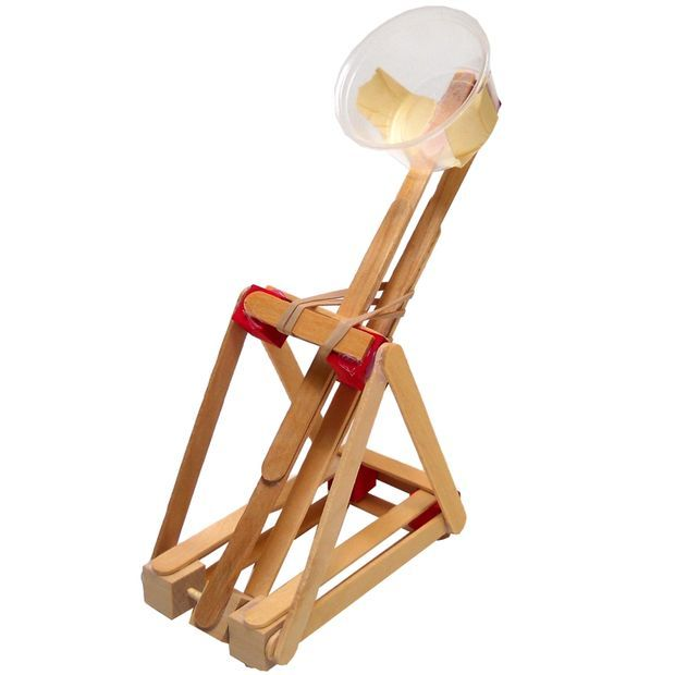 One of the mini siege weapons for kids found on instructables.com