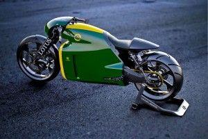 New LOTUS motorcycle C-01