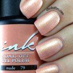 Glam and Glits Ink Gel Polish Nude #79 Swatch
