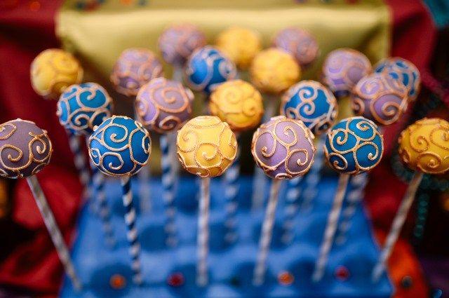 Ezra Benjamin's The Arabian Nights Themed Party - Desserts                                                                                                                                                                                 More