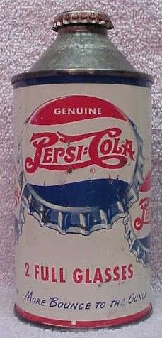 Pepsi Cola 1948... thats a FREAKY looking bottle.