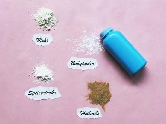 DIY Trockenshampoo - Beautyprodukt selber machen - Tonerde nutzen