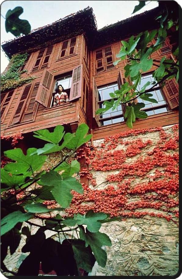 Çürüksulu Yalısı Salacak-Üsküdar / İstanbul 1970's