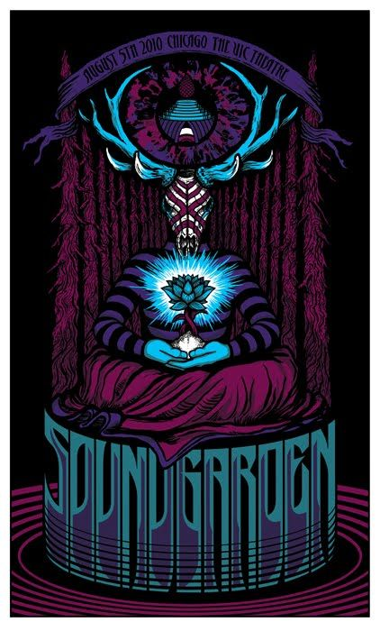 soundgarden poster - Google Search