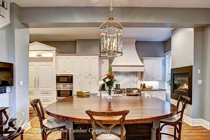 Natural Walnut Kitchen Island In Summit New Jersey: 1000+ Images About Seating Areas With Wood Countertops And