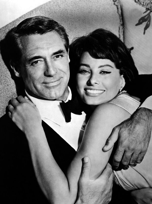 Софи Лорен и Кэри Грант (1958).