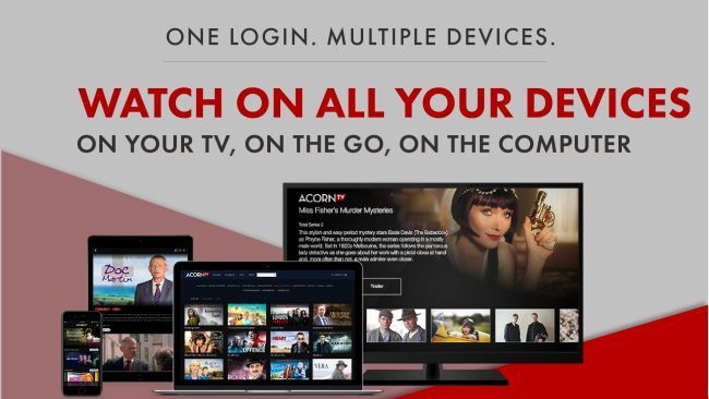 Acorn TV New & Featured The best British TV streaming