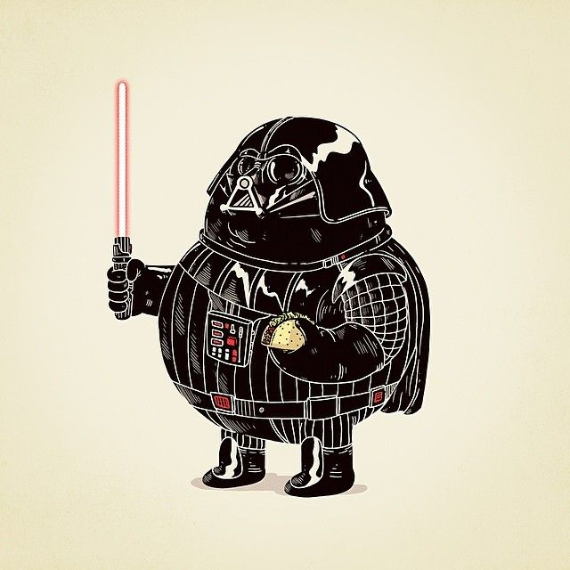 """""""Chunky Darth Vader"""" - Star Wars 