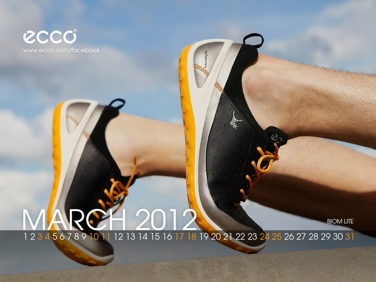 March 2012, ECCO BIOM Lite - Visit us on http://facebook.com/ecco #ecco @eccoshoes