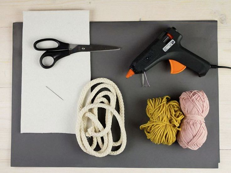 Tutorial DIY: Podkładki na kubki ze sznurka przez DaWanda.com