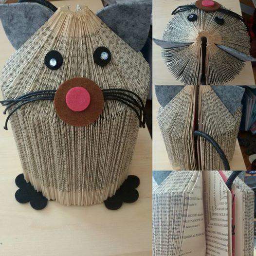 book cat pet !  (Book+ felt + loooots of glue) 13331152_10209570497169012_4946454104087315106_n.jpg (526×526)