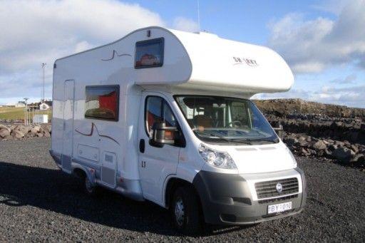 fiat ducato 5 - motorhome rental  in Iceland.