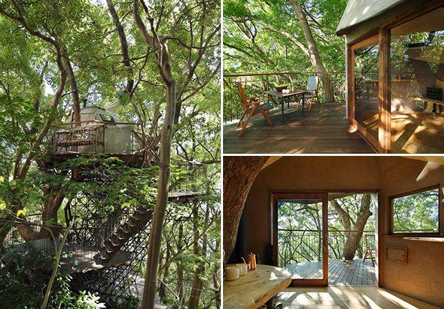 Takashi Kobayashi é bem conhecido no Japão por ser um especialista em casas na árvore, já tendo construído mais de 120 delas ao longo dos últimos 15 anos. E a última delas, localizada no resort Risonare, em Atami, irá superar todas as suas expectativas. Construída em cima de uma árvore com mais de 300 anos, ela foi totalmente projetada p...