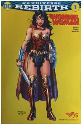 Wonder Woman #1 (2016)  Foil Error Variant. Click the pic and find out more...