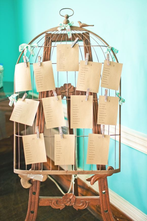 Wooden birdcage table plan...
