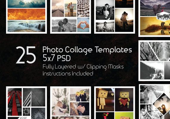 The 12 best Photo Templates images on Pinterest | Photo collage ...