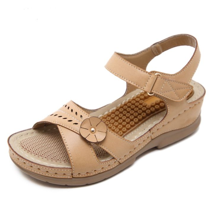 Casual Comfortable Wedges Open Toe Sandals //Price: $31.00 & FREE Shipping //     #shopping