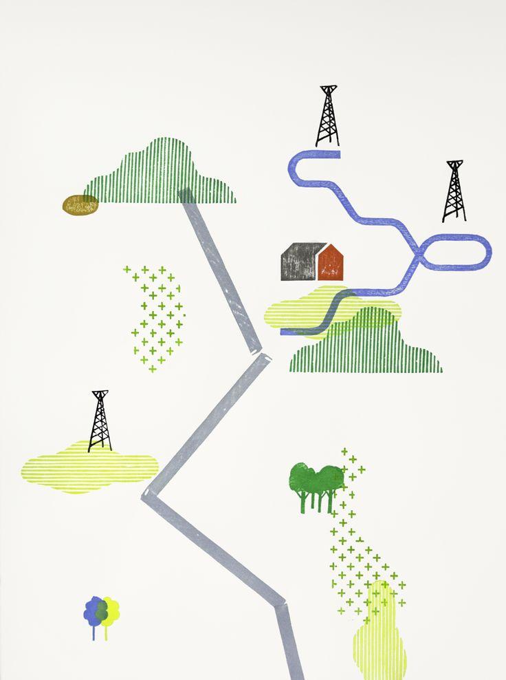 Parcours et écriture graphique d'un territoire personnel Julien Billaudeau